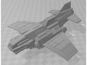 Thunder Lightning Heavy Fighter Bomber
