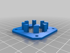 Sunhokey Prusa I3 Z Axis Rotation Alignment Gauge Thingy
