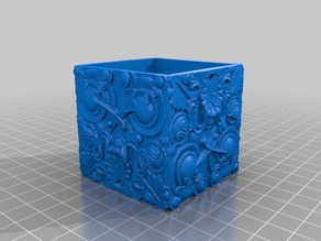 Selz House Tile Planter (usable as box too)