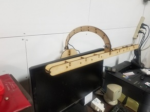 LED Strip Monitor Mount Lamp LASER CUT