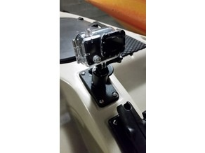 Pivoting Compact Scotty GoPro Mount