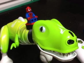 Boomer the Zoomer Dino LEGO compatible seat