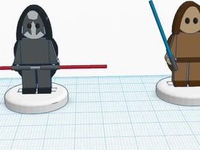 FlatMinis: Jedi & Sith