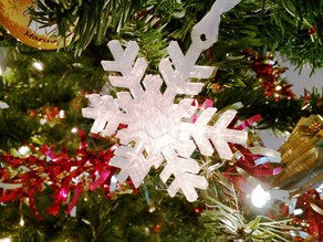 Snowflake Ornament - simple design