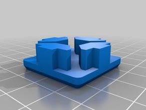 Füse Endkappe 30x30 Profil