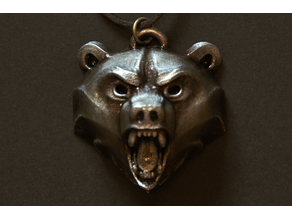 Witcher School of the Bear Medallion