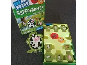 Insert for Polish game Superfarmer (box insert)
