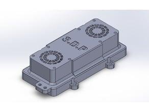 Capot XV-01 V1 - 2 ventilateurs
