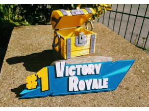 Fortnite Victory Royale - 3D Puzzle