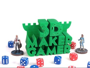 3D Maker Gamer Logo