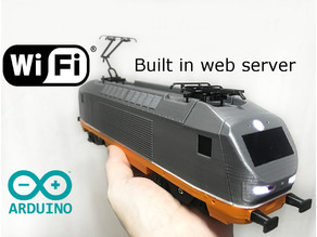 Hectorrail 141 Wifi locomotive for OS-Railway - fully 3D-printable railway system