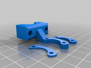 V6 FRONT 3D/BL TOUCH MOUNT