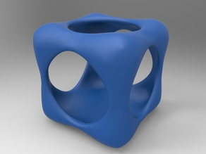 Topological cube