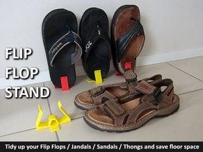 Flip Flops (Jandals / Thongs / Sandals) Stand