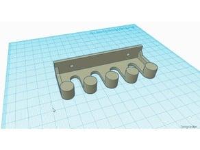 Wallholder (rack) oscilloscope probes