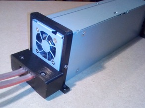 Power Supply mount, holder and case  for DPS-600PB