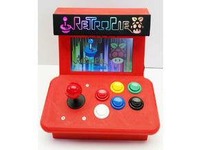 Mini Arcade videogame with Raspberry Pi 2