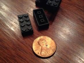 Lego-like Brick (Made with tiny cubes)