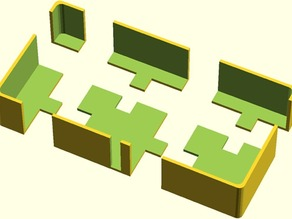 OpenScad Puzzle Peice Cutter