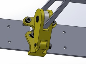 I3 Steel Y-axis belt tensiones
