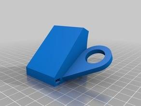 Wanhao Duplicator I3 - fan holder / fan duct with sensor holder