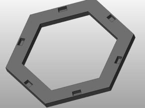 Magnetic base for JAWONG Catan tiles