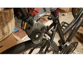 Ebike friction drive unit