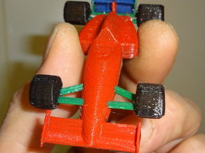 4 colors F1 Miniature
