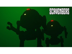Human Steam Mecha for Scavengers