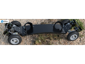 4x4x4 Offroad Monster - Electric Mountainboard