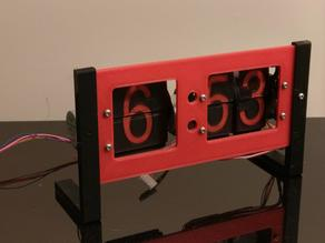 Split Flap Clock