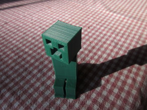 Minecraft Creeper with movable head Remix