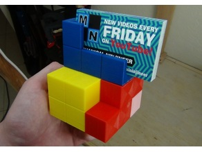 Tetris Business Card Holder