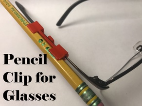 Pencil Clip for Glasses