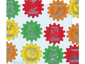 Cleaning Achievement Badges
