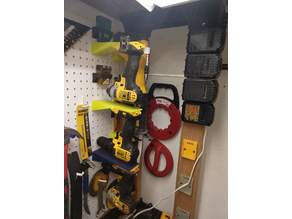 Dewalt 20V Tool Mounts for Pegboard