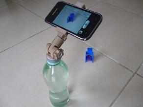 Universal bottle cap tripod