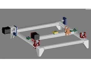 cnc laser led cutter 1.5w