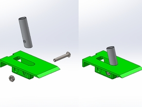 Collapsible Bungee Tow Hook