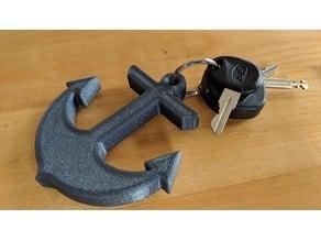Anchor - nautical key float / buoy