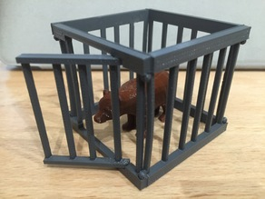 Bear/Zombie Cage 50mm Sections