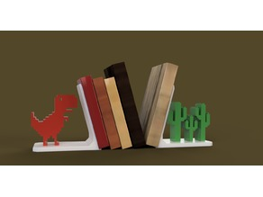 Bookstand / bookshelf / T-Rex / Nerdy