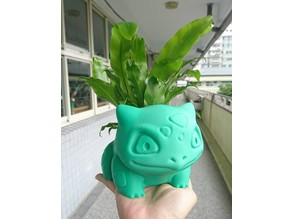 Bulbasaur flower pot 妙蛙花盆(3吋)