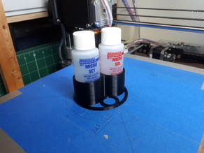 Microscale Sol and Set Bottle Holder