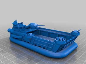 Tengo-Class Assault Vessel from the Heavy MetalGods Role Playing Game