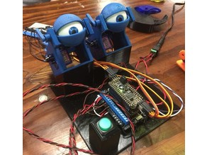 Programmable Animatronic Eyeball Mechanism Demo