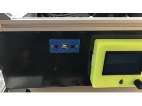 3D Printer USB Cover