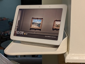 Google Home Hub shelf