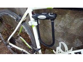 Bike lock holder