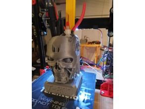 My version of T800 Smooth Terminator Pen Holder